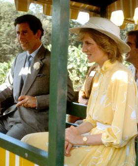 Big Pineapple Train Ridden By Charles And Diana Has Crashed Into A Fence