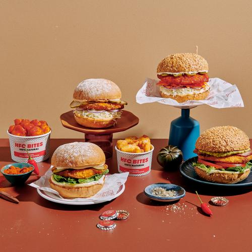 Grill'd Has Dropped Four Delicious Healthy Fried Chicken Burgers!