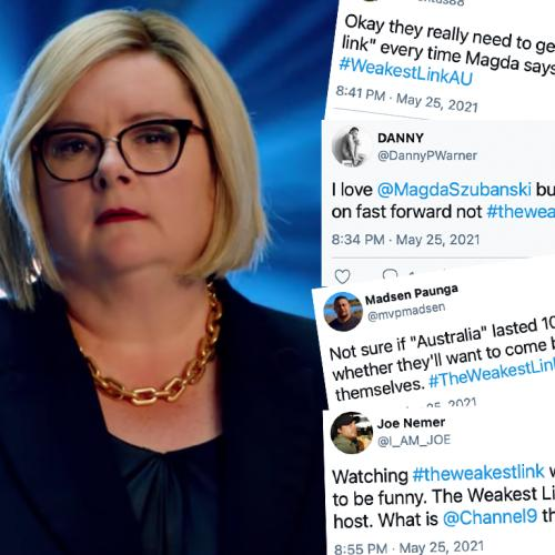 Viewers Ripped Into The Reboot Of 'The Weakest Link' Last Night