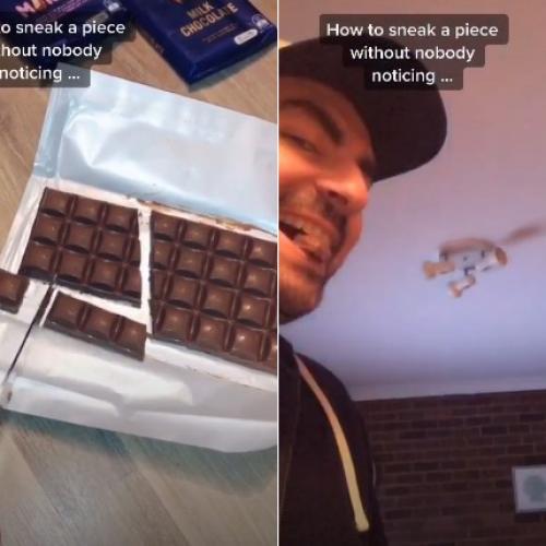 This Guy's Ingenious Cadbury Chocolate Hack Is Actual Sorcery