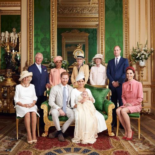 Royal Family Puts Feud Aside To Celebrate Archie's 2nd Birthday