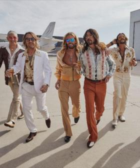 Foo Fighters Go All-Out Disco Revealing Their Bee Gees Tribute Band, Dee Gees
