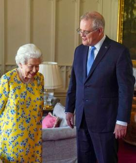 """""""Everyone Was Talking About You"""": PM Scott Morrison Said WHAT To The Queen?"""
