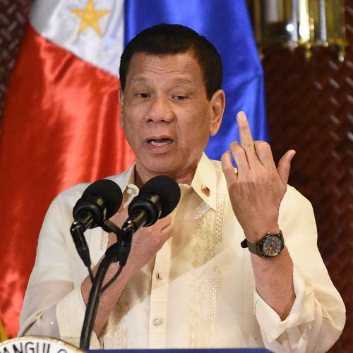 Philippine President THREATENS Anti-Vaxxers With Jail And Butt Injection