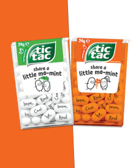Tic Tac Has Released Adorable Limited Edition Mints With Kind Messages