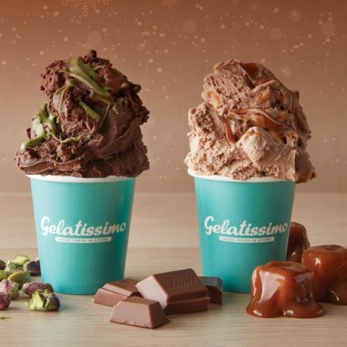 Gelatissimo Have Two Winter Gelato Flavours That Use Real Lindt Chocolate