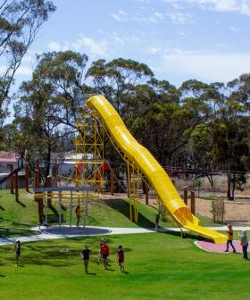 There's An Aussie Park That Has Giant Scaled-Up Playground Equipment For Adults