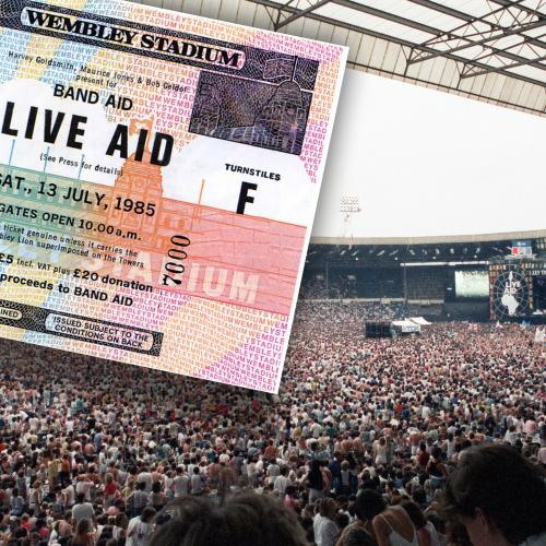 It's 36 Years To The Day That 'Live Aid' Exploded Onto Our Screens