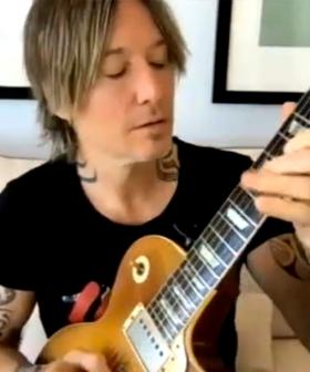 Keith Urban Teaches Us How To Sing Part Of His Song 'Out The Cage'