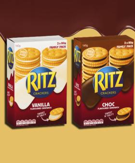 Ritz Release Chocolate Sandwich Cracker Range