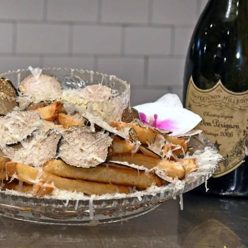 The Most Expensive French Fries In The World Don't Even Have Chicken Salt On Them