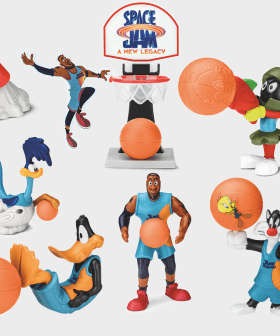 The 90s Are Back: McDonald's Release New 'Space Jam' Happy Meal Toys!