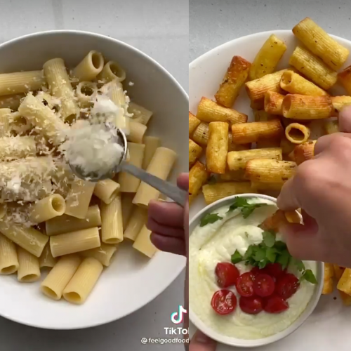 This Air Fried 'Pasta Chips' Recipe Is Taking The Internet By Storm!
