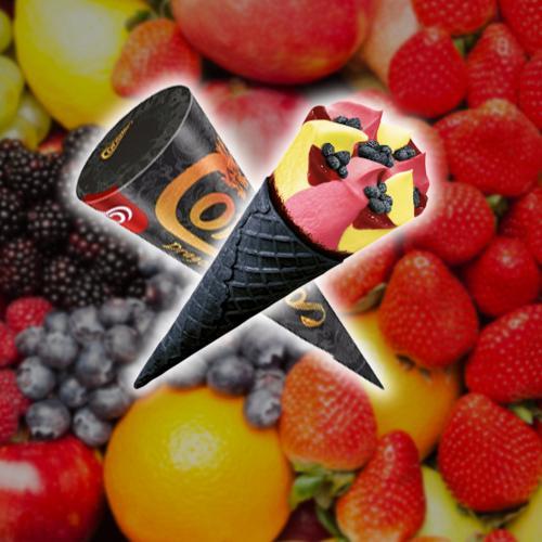 Streets Releases New Fruity Cornetto Flavour In A Black Cocoa Wafer Cone!