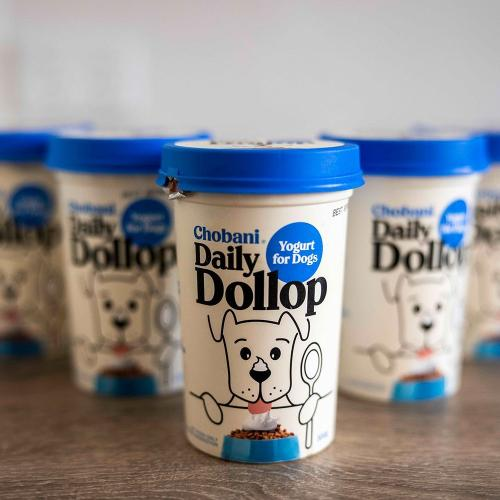 Chobani Releases First-Ever Dog Yoghurt Just For Your Best Mate
