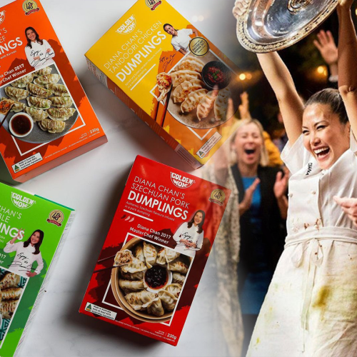 MasterChef Winner Diana Chan's Dumplings Now Come In Honey Soy Chicken & BBQ Pork!