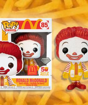 McDonald's Has Released A Limited Edition Glittery Ronald McDonald Funko Pop Figurine