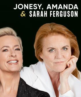 """The Jonesy, Amanda & Sarah Ferguson Show"": Fergie Wants To Be Part Of Our Show!"