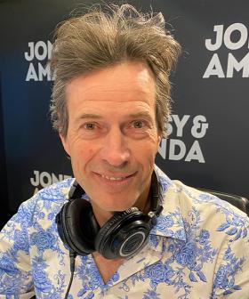 Jonesy Accepts Amanda Keller's Offer To Cut His Hair LIVE On Air
