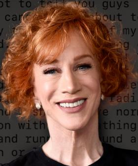 """""""I Have Cancer"""": Kathy Griffin's Shock Lung Cancer Diagnosis"""