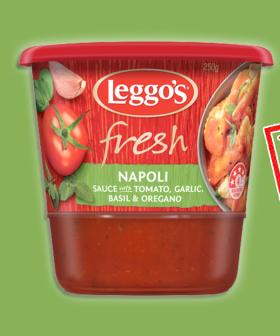 URGENT RECALL: Woolworths Is Recalling Leggo's Fresh Napoli Sauce