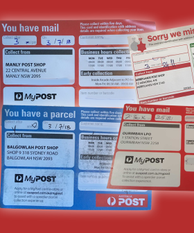 Aussies Have Noticed Postmen Have Been Leaving 'Missed Delivery' Cards Despite Residents Being HOME!