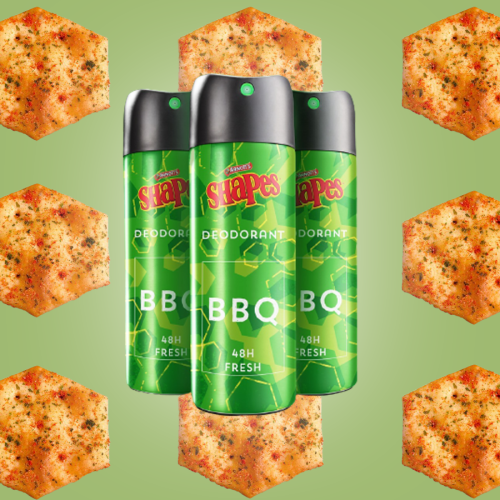 Would You Try BBQ Shapes Deodorant?