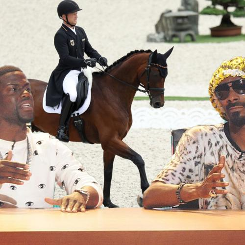 """""""Do The Horses Get Medals Too?"""": Snoop Dogg And Kevin Hart's Hilarious Equestrian Commentary"""