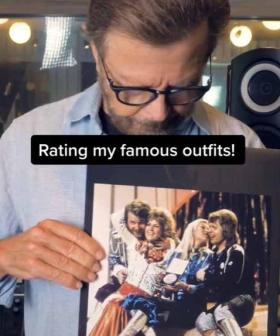 ABBA's Bjorn Rates His Most ICONIC Outfits From The 1970s In New Clip