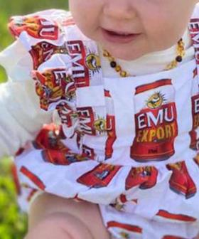 Bush Chook Baby Romper Snapped Up In Nanoseconds After Being Posted To Marketplace