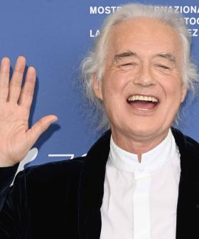 Jimmy Page 'Overwhelmed' By Reaction To Led Zeppelin Doco At Premiere
