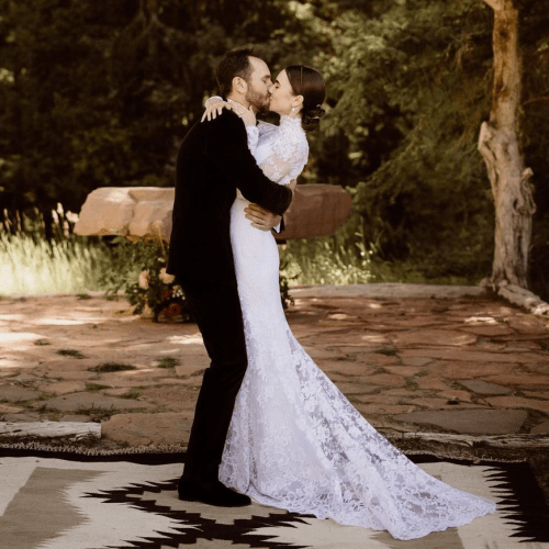 """""""We're Each Other's Forever"""": Phil Collins' Daughter Lily Ties The Knot With Partner Charlie McDowell"""