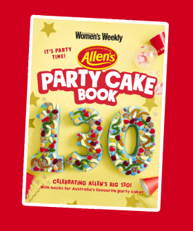 Allen's Lollies & Women's Weekly Are Recreating The Iconic Australian 'Party Cake Book'