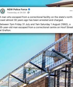 NSW Man Who Escaped Prison Turns Himself In 30 Years Later