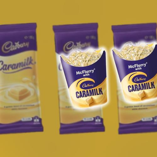 McDonald's Are Rumoured To Be Releasing A Brand New Caramilk Flavoured McFlurry!