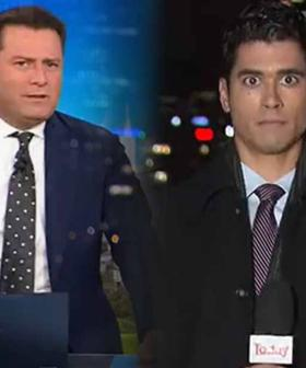 Reporter 'Deer In Headlights' After Karl Stefanovic Calls Him Out Live On Air