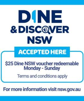 NSW Residents To Receive TWO More Dine And Discover Vouchers This Year