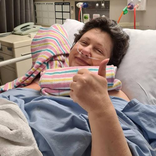 Mel Dzelde Has Terminal Cancer But She Is The Happiest Person You Will Ever Meet
