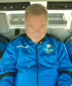 William Shatner Becomes The OLDEST Space Traveller At 90